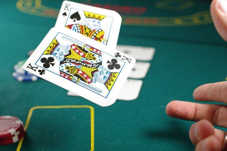 casino poker king spades and clubs